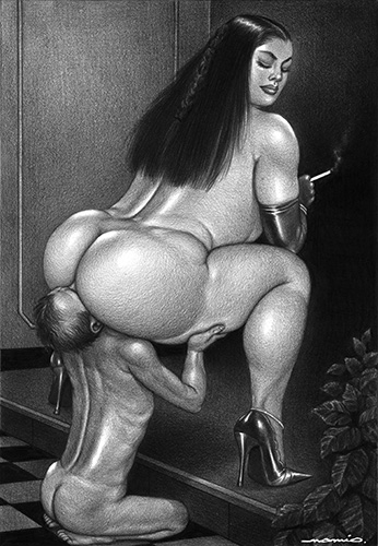 grosse femme nue dominatrice paris