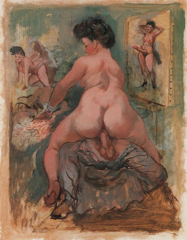 Erotic artist blog