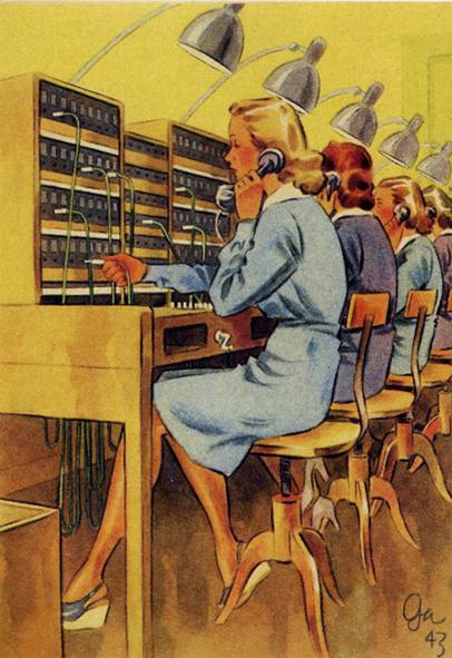gaggleman-carte-postale-WWII
